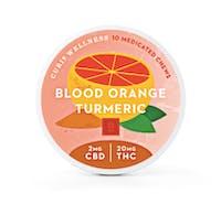Curio 2:20 CBD:THC Blood Orange Turmeric Infused Chewable