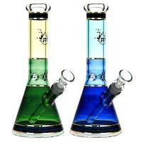 """Pulsar 10"""" Colorful Beaker Waterpipe"""
