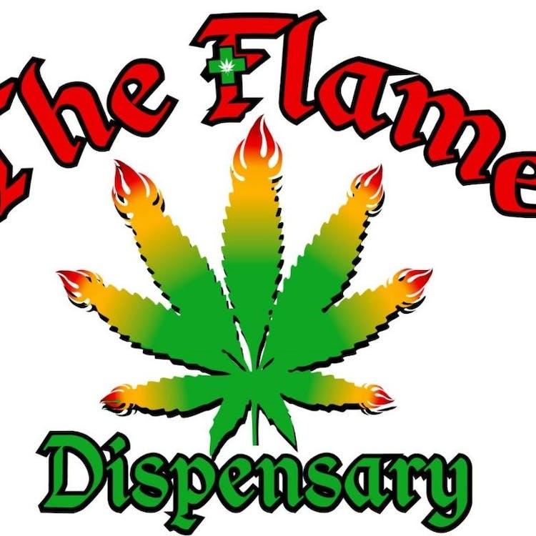Logo for The Flame Dispensary