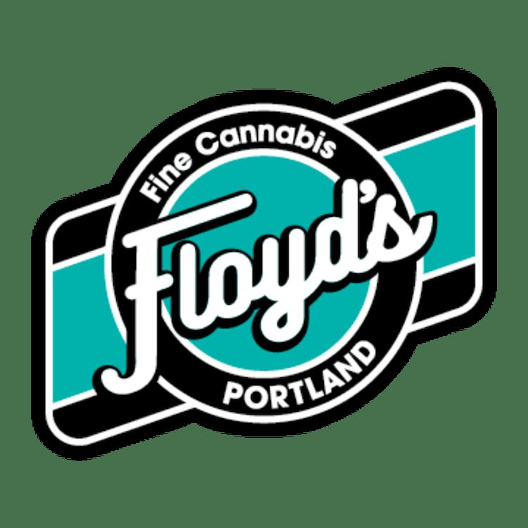 Logo for Floyd's Fine Cannabis on Whitaker