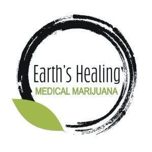 Logo for Earth's Healing South Delivery