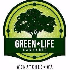 Logo for Green Life Cannabis - Wenatchee