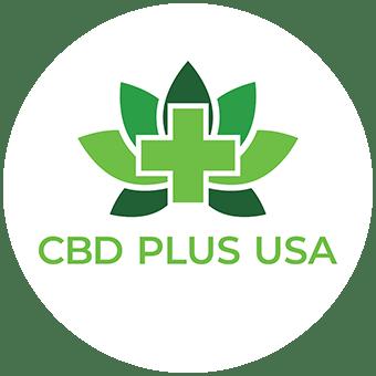 Logo for CBD Plus USA - Constitution