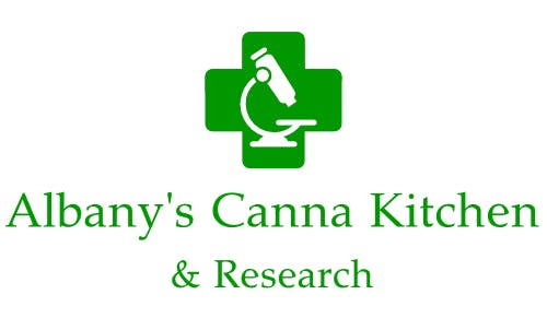 Logo for Albany's Canna Kitchen & Research, LLC
