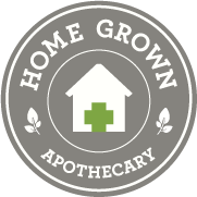 Logo for Home Grown Apothecary