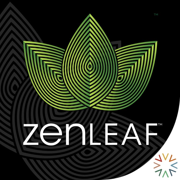 Logo for Zen Leaf - Germantown