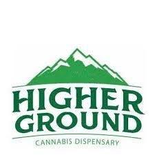Logo for Higher Ground Dispensary - Oregon