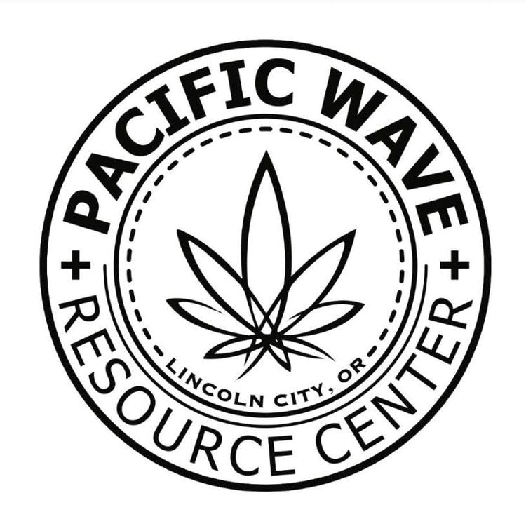 Logo for Pacific Wave Resource Center - Lincoln City