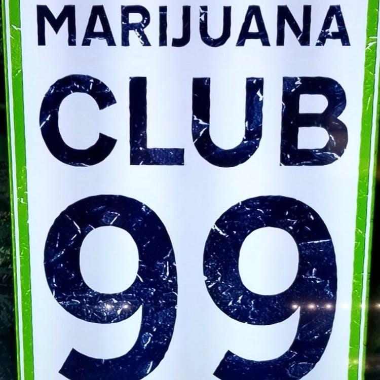 Logo for Marijuana Club 99