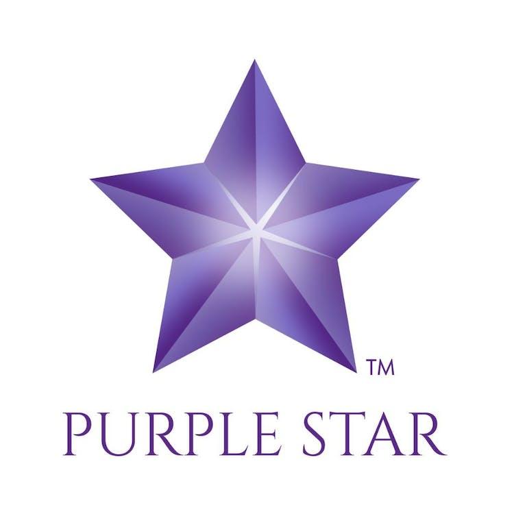 Logo for Purple Star MD