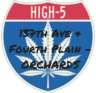 Logo for High 5 Cannabis