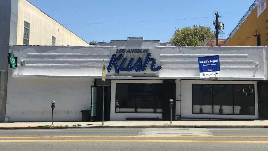 Los Angeles Kush Echo Park Menu