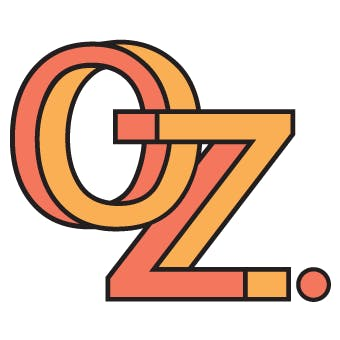 Logo for OZ. Recreational Cannabis