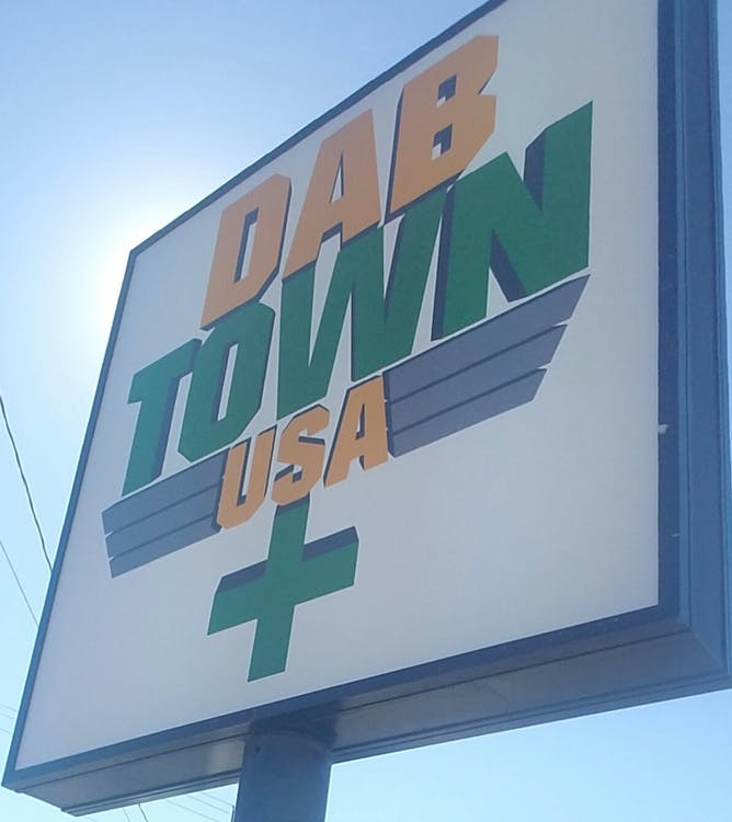 Logo for Dab Town USA