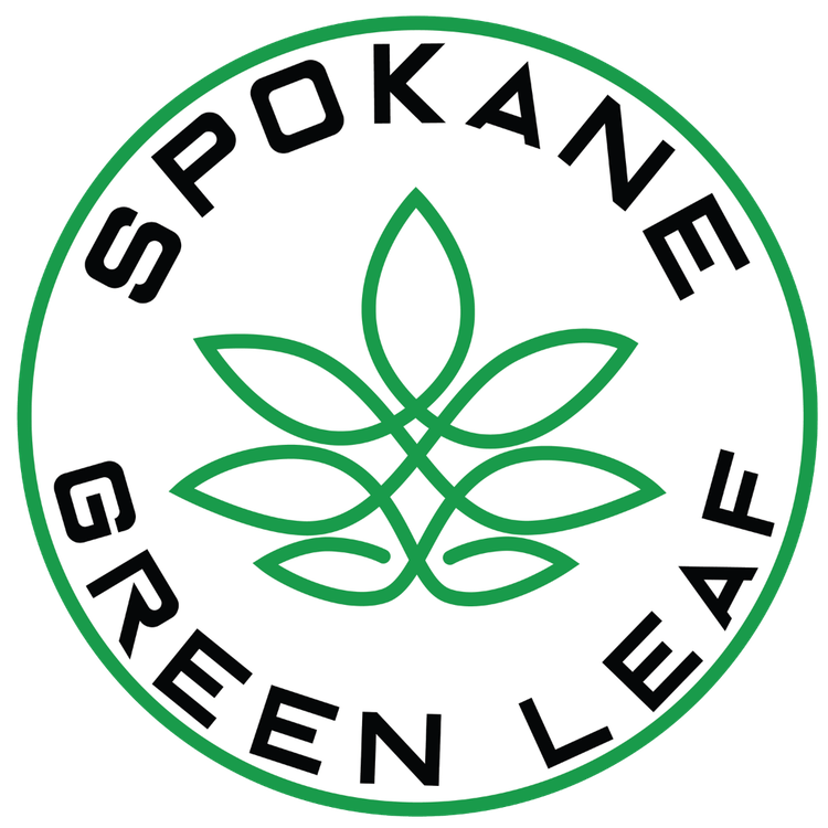 Logo for Spokane Green Leaf