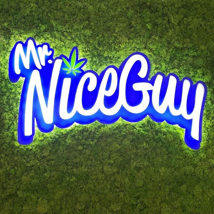 Logo for Mr. Nice Guy - Lebanon