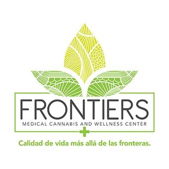 Logo for Frontiers Medical Cannabis & Wellness Center Caguas