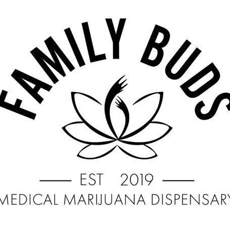 Logo for Family Buds - Now Open!