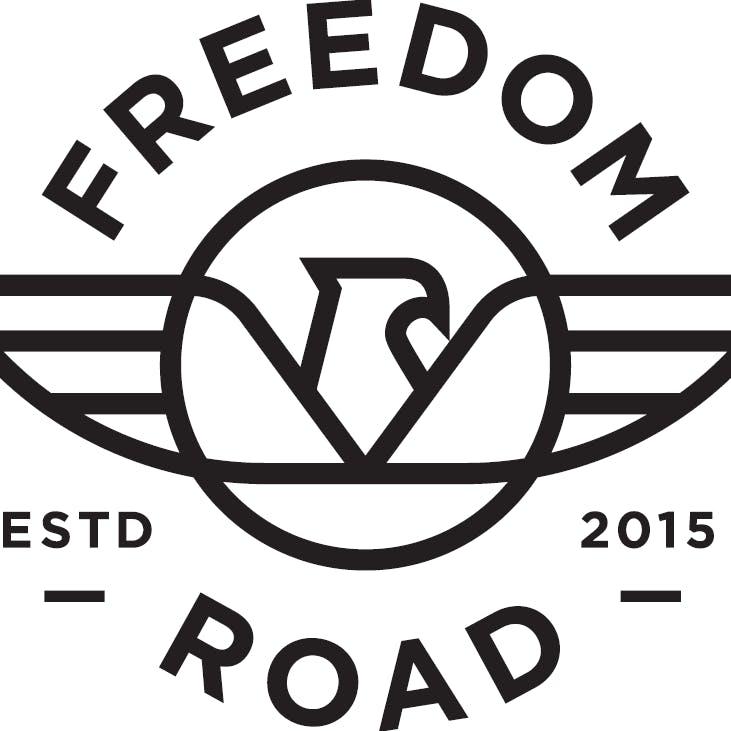Logo for Freedom Road Dispensary on Main