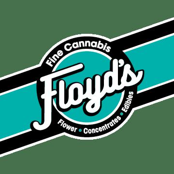 Logo for Floyd's Fine Cannabis on Sandy