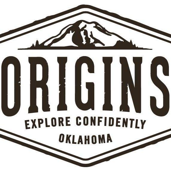 Logo for Origins Cannabis on N Meridian