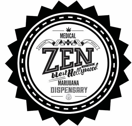 Logo for Zen Healing West Hollywood