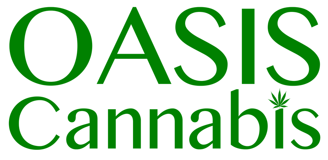 Logo for Oasis Cannabis - Seaside