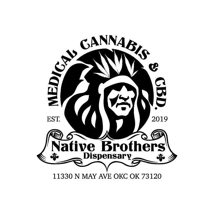 Logo for Native Brothers Dispensary OKC