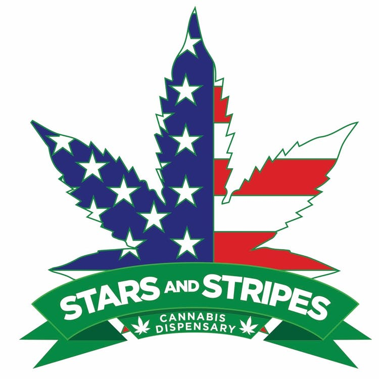 Logo for Stars and Stripes Dispensary