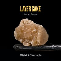 District Cannabis Batter Layer Cake 3.5g