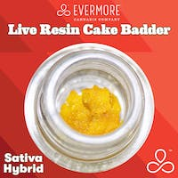 Evermore Peach Zeason Live Resin Cake Batter .5g