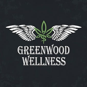 Logo for Greenwood Wellness Dispensary