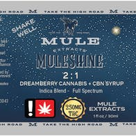 Mule - Muleshine: Dreamberry 2:1 THC:CBN Syrup / THC: 1007.1mg CBN: 492.7mg